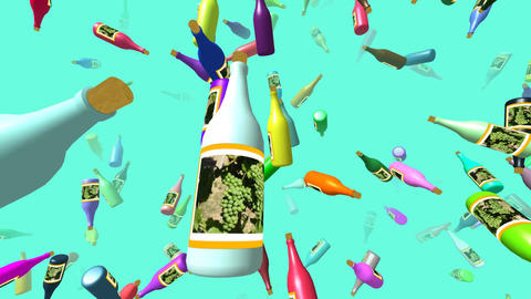 Flying Bottles 2