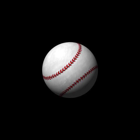 野球ボール After Effectsテンプレート