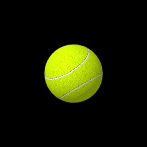 テニスボール After Effectsテンプレート
