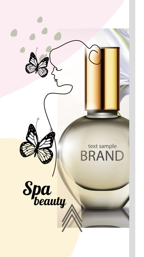 Spa Beauty Slideshow Instagram After Effects Template