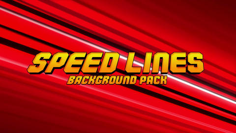 Speedlines Background Pack After Effects Template