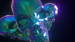 Retro Pyramid Skulls Live Action