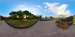 Buddhist temple on the island of Bali vr360 VR 360° Video