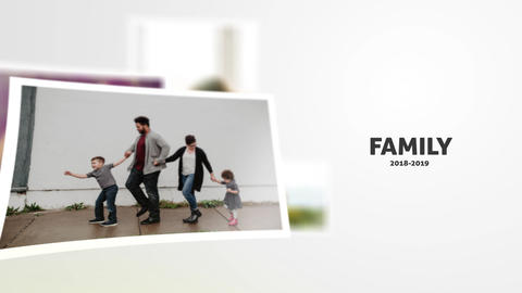 Family Slideshowe After Effects Template