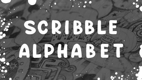 Scribble Alphabet Motion Graphics Template