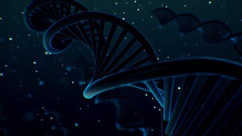 DNA BackGround CG Animation