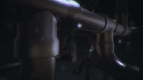 Pipe BackGround CG Animation