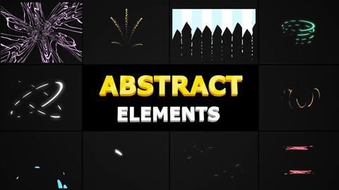Abstract Shapes Motion Graphics Template