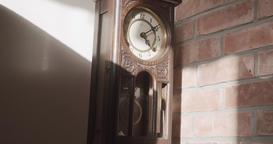 Vintage Pendulum Clock Live Action