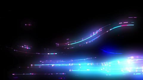 Futuristic Lights Background Loop Animation