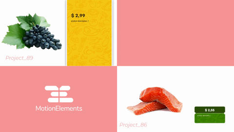Two templates for online store After Effects Template