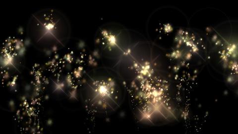 キラキラ輝く光のエフェクト動画(背景透過) CG動画
