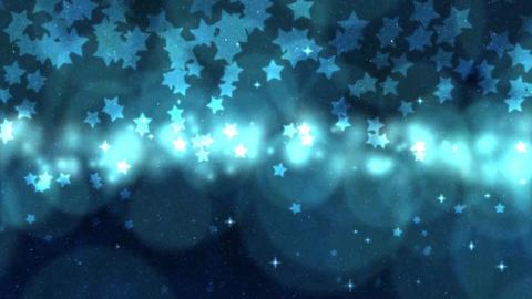 Stars on starry sky background Videos animados