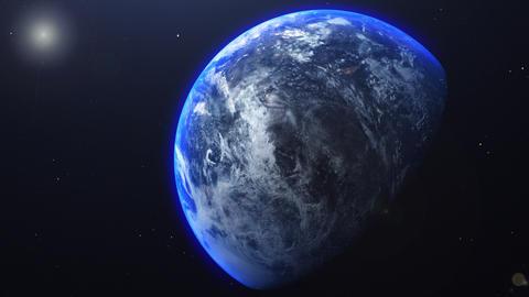 Realistic Planet Animation Animation