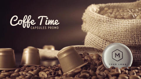 Coffe Capsules Promo Pack After Effects Template