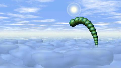 Dragon On Sky