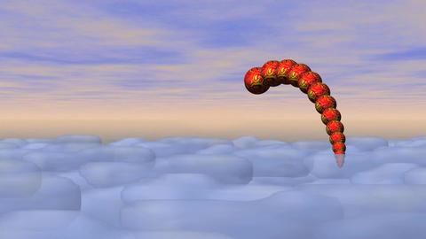 Dragon On Sky 0