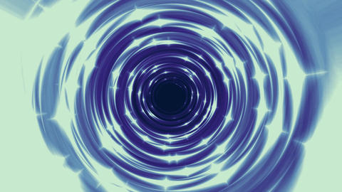 Fire tunnel generated seamless loop video GIF