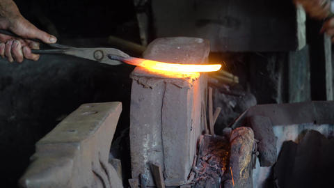 Anvil in a blacksmith workshop Live Action