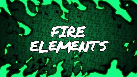 MOGRT - Fire Elements Motion Graphics Template