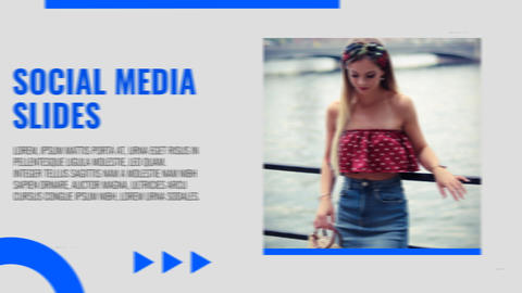 Social Media Slides After Effects Template