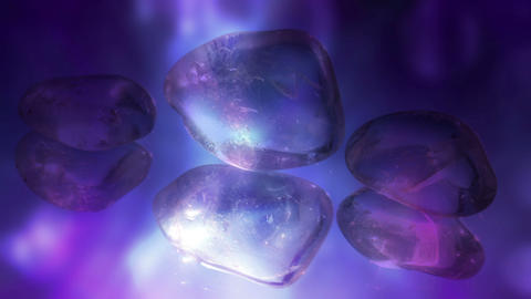 Crystal Stones Background Animation