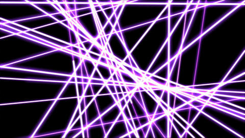 Crossing Lines, Cuts and Slices Animation - Loop Purple Animation