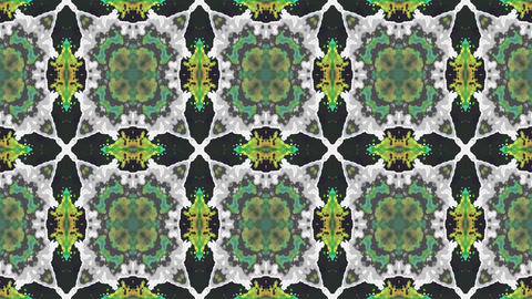 Kaleidoscopic generated seamless loop video GIF