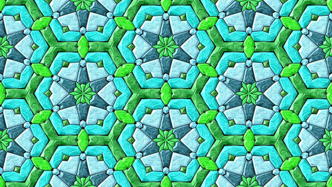 Glass Mosaic Kaleidoscope 0