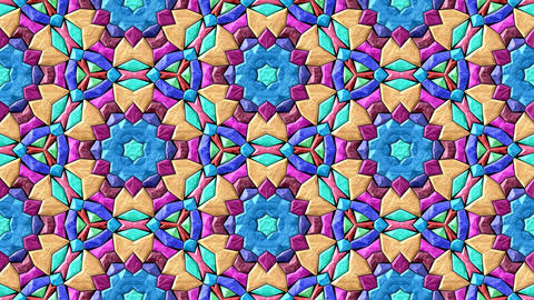 Glass Mosaic Kaleidoscope 1