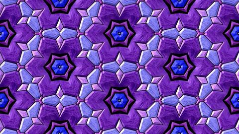 Glass Mosaic Kaleidoscope 2