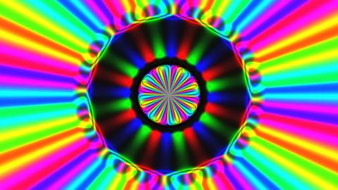 Rainbow Waves 1