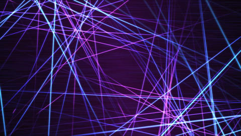 Moving through Light/Laser Beams Animation Animation -... Stock Video Footage