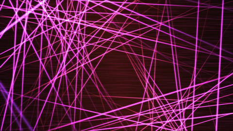 Moving through Light/Laser Beams Animation Animation - Loop Rainbow