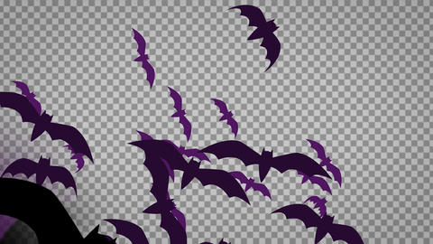 Halloween Animated Character and Backdrop Collection After Effects Template