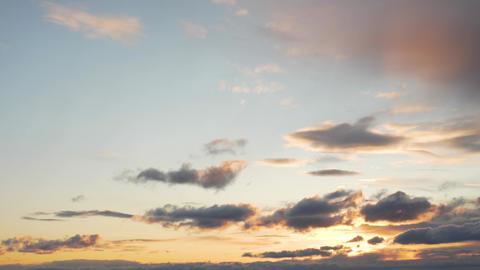 Dramatic sunset sky. Red purple cloud sunset sky. Dark red purple sunset sky Live Action