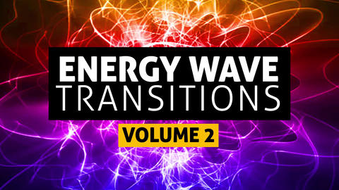 Energy Wave Transitions Vol2 After Effects Animation Preset