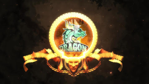 Dragon Logo Reveal After Effects Template