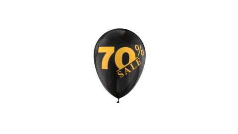 70 Percent Sales Discount Loop Animation with QuickTime / Animation / Alpha Channel Videos animados