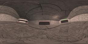 Space Hangar VR360 Fotografía de realidad virtual (RV) en 360°