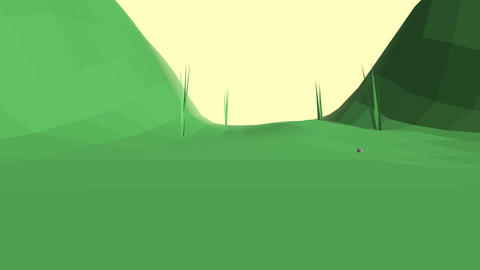 Low Poly Landscape 0