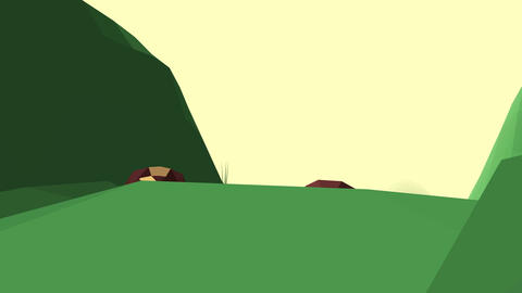 Low Poly Landscape 1