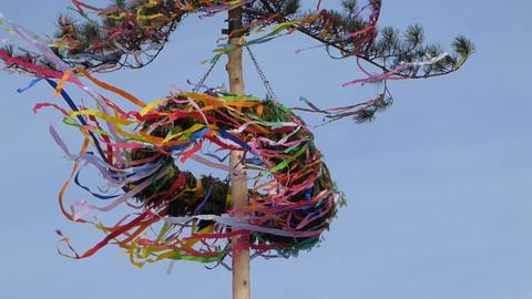 Maypole In Wind 1