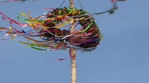 Maypole In Wind 2