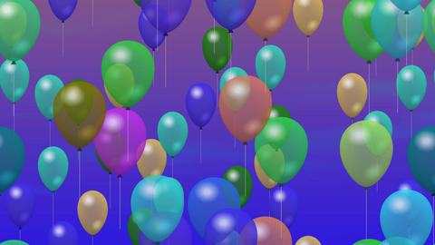 Party Balloons On Sky 0