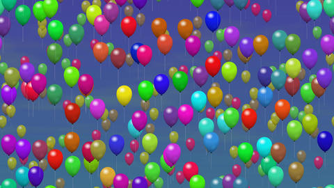 Party Balloons On Sky 1