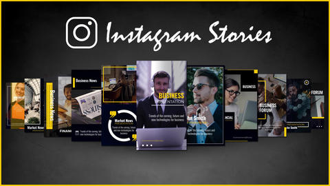 Business Instagram Story Motion Graphics Template
