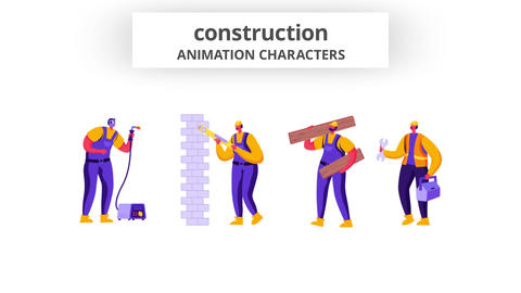 Construction - Character Set After Effects Template
