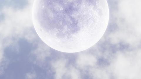 Moon in the Sky B 애니메이션