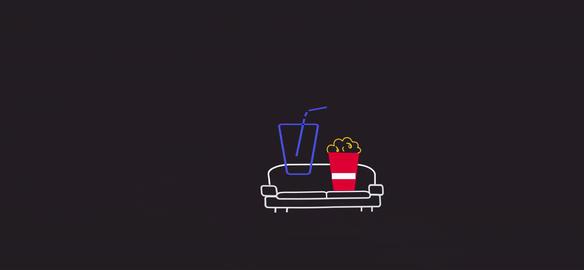 POPCORN Juice Komitsu PopcornTopDrop ber Motion Graphics Template